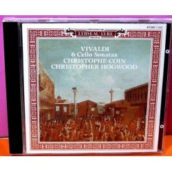 Vivaldi - 6 Cello Sonatas. Cristophe Coin - Cristopher Hogwood