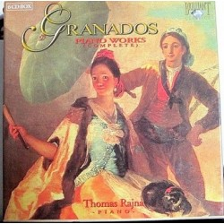 Granados - Piano Works ( Complete ) 6 x CD Box Set