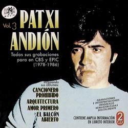 Patxi Andión – Vol.3 Todas Sus Grabaciones Para Cbs y Epic (1978-1986)