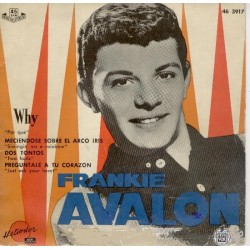 Frankie Avalon - Why + 3 Temas.