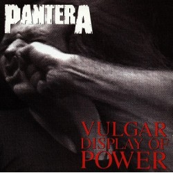Pantera ‎– Vulgar Display Of Power.