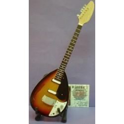 Guitarra Rolling Stones - Negra