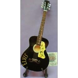 Guitarra Elvis Presley negra