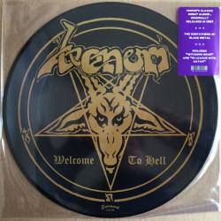 Venom ‎– Welcome To Hell. Vinyl,  Reissue, Picture Disc