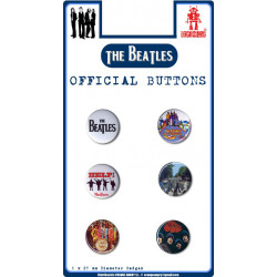 Beatles,The - Official Buttons