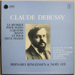 Claude Debussy - Bernard Ringeissen & Noël Lee