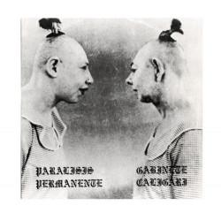 "Paralisis Permanente / Gabinete Caligari - 7"" Golpes + 3 - Tres Cipreses"