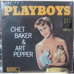 Chet Baker & Art Pepper ‎– Playboys