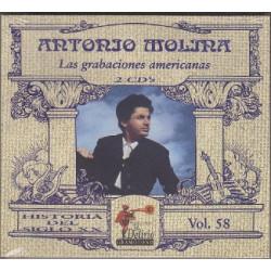 Antonio Molina - Las Grabaciones Americanas.