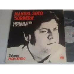 """Manuel Soto """"Sordera"""" – Cantes De Ayer Y De Siempre"""