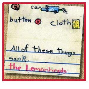Lemonheads, The – Car Button Cloth