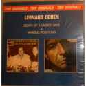 Leonard Cohen ‎– Two Originals: Death Of A Ladies' Man + Various Positions