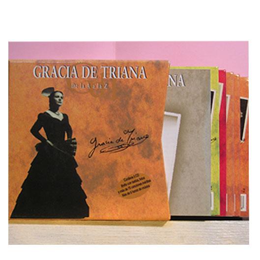 Gracia De Triana - De La  A a La Z - Box 5CD y Libreto, Edición Limitada