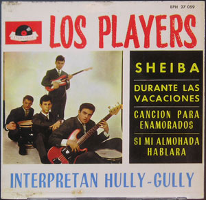 "Players, Los - Sheiba, EP 7"""