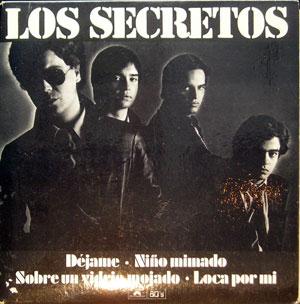 Los Secretos, EP, 4 Temas - Déjame, ¡¡ Muy Raro !!
