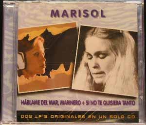 Marisol - Hablame Del Mar Marinero + Si No Te Quisiera Tanto